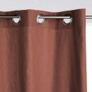 cortina panama terra 140x260, terracota