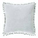 Pillow tassels almond 40x40, green