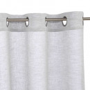voilage fred gris 140x240, gris