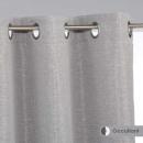 apagón cortina chevron gf 140x260, gris oscuro