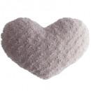 Cuscini cuore rosa fibbia 28x36, rosa