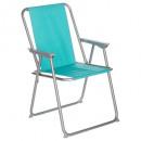 Griego azul, azul silla plegable