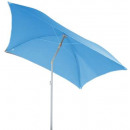 wholesale Parasols & Pavilions: sunshade beach square helenie bl, light blue