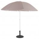 mayorista Sombrillas y toldos para el jardin: parasol playa ardea 2m40 taupe, taupe