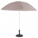 parasol playa ardea 2m40 taupe, taupe