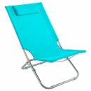 beach chair caparica blue, light blue