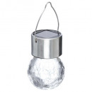 stainless steel pendant light o6cm, silver