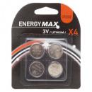 wholesale Batteries & Accumulators: button batteries cr2032 x4, red
