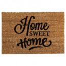 coconut doormat 40x60 welcome, 4- times assorted ,