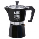 Italian coffee maker wb 6 cup, black