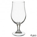 x4 beer glass on 37cl stand