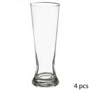 vaso de cerveza x4 recta 37cl