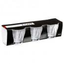 glass cup handle metalx3 11cl