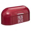 wholesale Kitchen Gadgets: red rounded metal tin, red