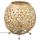 Ovale Bambuslampe Yazu H21.5, 2- fach sortiert , H