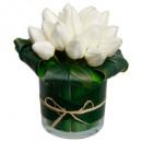 bloemenvaas vaas vr d10h17, 3 maal geassorteerd ,