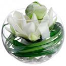 compo lotusvaas vr h21, transparant