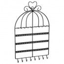 cage wall jewelry holder, 2- times assorted , mult
