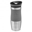 taza iso dbl wall 35cl gray rc, gris