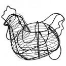 panier a oeufs poule 33cm, 2-fois assorti, multico