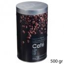 kávés doboz kerek domborművel 2