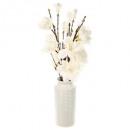 Magnolia keramische vaas h75 samenstelling, wit