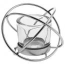 metalen bal theelicht + 1 lumi vr, 2 maal geassort