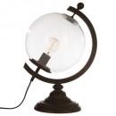 mayorista Casa y decoración: Lámpara h43 globe metal, transparente