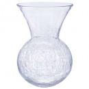 vase boule evas craq h28, transparent
