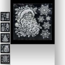 wholesale Wall Tattoos: white relief sticker 30x30cm, 6- times assorted