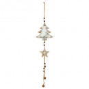 christmas decoration wood long form + oven + star,