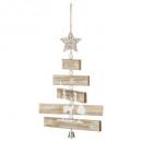 Weihnachtsdekoration Holz künstliche Baumblätter i