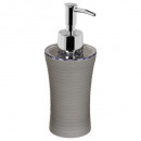 distrib soap plastic stripe gray