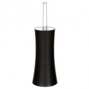 black stripe plastic toilet brush