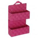 Shelf 2 levelssuspendre fushia
