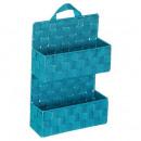 Shelf 2 levels turquoise