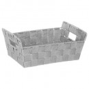 basket 2 handles gray bevel c