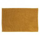 chenille kort geel tapijt