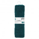 chenille mini mat 50x80 v em, dark green