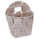 round basket hang taupe