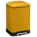 Papelera Ariane 6l amarillo, amarillo