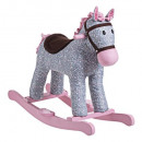 flowering rocking horse, multicolored