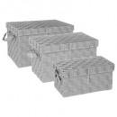 rettangolo scatola x3 grigio chiaro, grigio chiaro