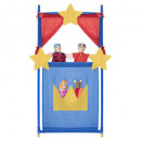 Theater 140cm + 4 puppets, 4- times assorted , mu