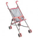 flower cane stroller, colorless
