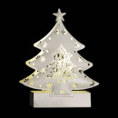 light christmas decoration sapn metal 2 led bl c
