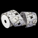 wholesale Business Equipment: printed textile ribbon 63mm x 2m70, 4- times assor