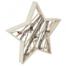 wholesale furniture: star wood decoration with branches