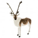 decoration giant reindeer plush 1m80