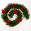 green garland 200x6x2.7m boa knot